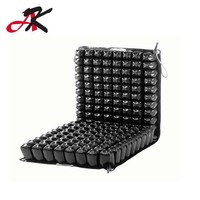 Inflatable Cushion Seat Pad Office School Home Black Air Cushion hemorrhoids honeycomb for decubitus ulcer