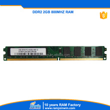 Import computer parts from China ram memory ddr2 2gb for desktop