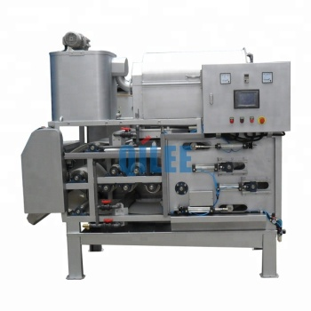 Stainless steel small belt filter press price