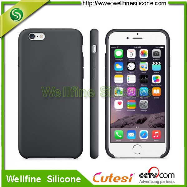 Newest silicone phone case for phone 5s 6 6s 6plus