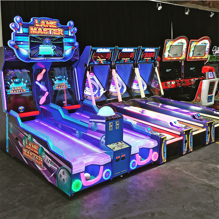 Indoor Lane Master Bowling Arcade Video Coin Operated Game ...