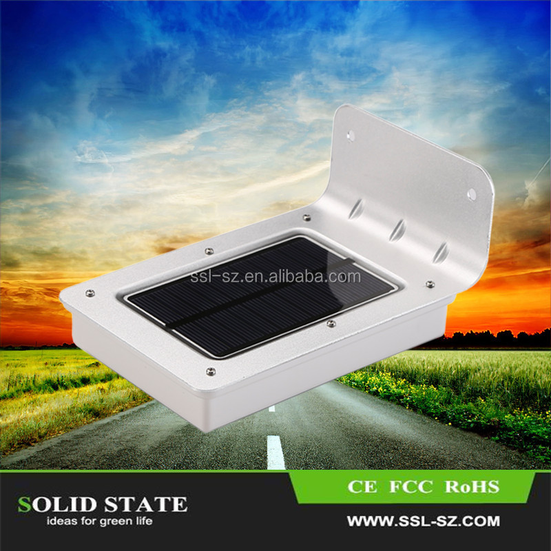 China Factory Cheap Price Led Outdoor Solar Light For Garden Wall