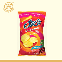 Polypropylene potato chip snack bag/laminated potato chips bag with custom logo design printing