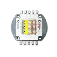 5 bands 100W LED aquarium light chip 7color for reef marine coral