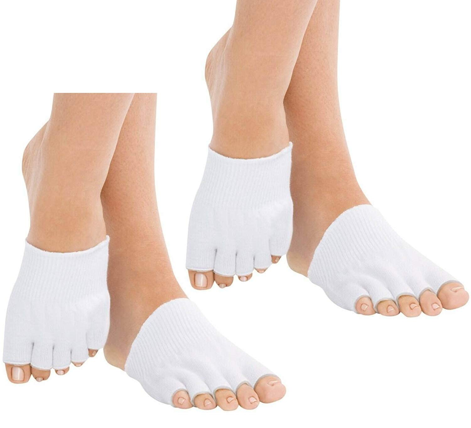 9cb7998764f Get Quotations · TASOM Toe Gel Socks   Toe Alignment Socks - Toes  Spreaders
