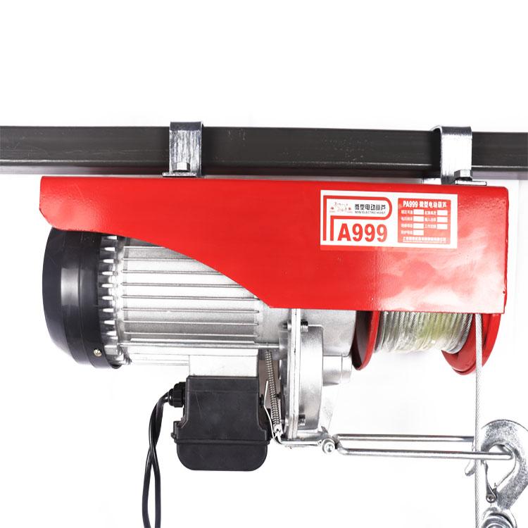 0.5t 20t 공장 pa500 와이어 로프 가격 Outdoormachine 전기 윈치 호이스트 CE