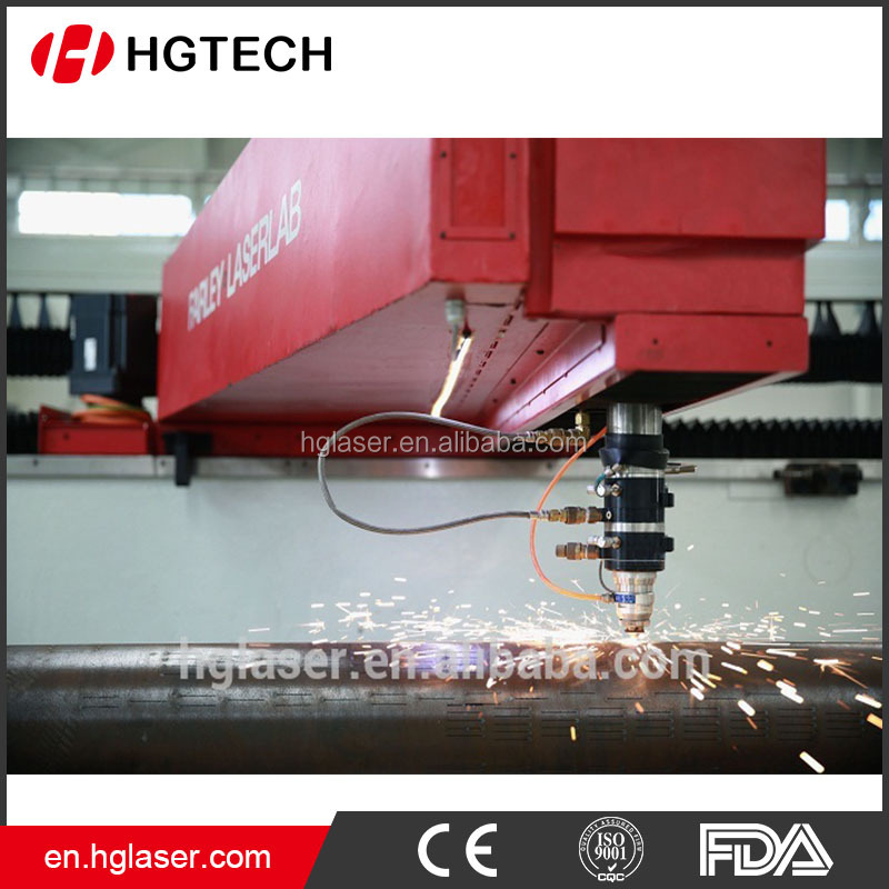 for oil well tube pipe metal laser cutter