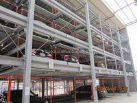 vertical-horizontal parking system 4 levels home garage car lift