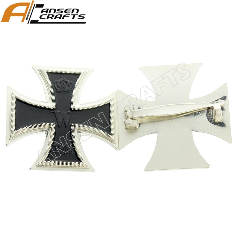 Ww1 Military German 1914 Iron Cross Pin Medal With Pin Back - Buy Military  Pin,Iron Cross Pin,German Pin Product on Alibaba com