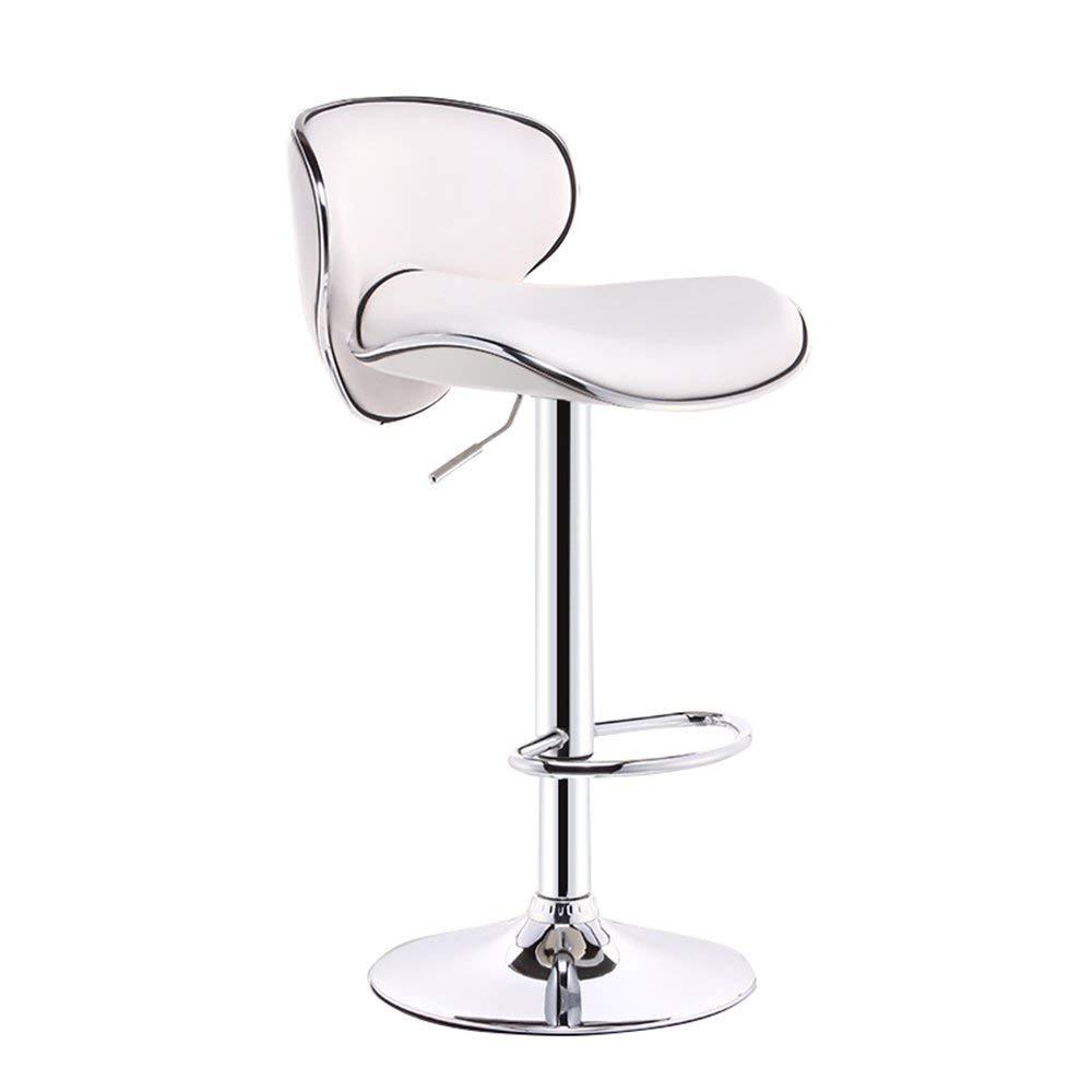 Bar Furniture 2pcs European Bar Stool Lift Rotating Bar Chair Cash Register High Stool Home Beauty Front Back Stool