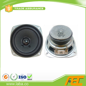 high quality 3 inch 4ohm 3w subwoofer speaker