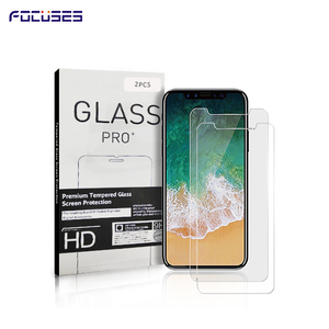 2pcs Pack For iPhone 11/XI Screen Protector Tempered Glass  Mobile Glass Screen Protector For iPhone 11 Screen Protector