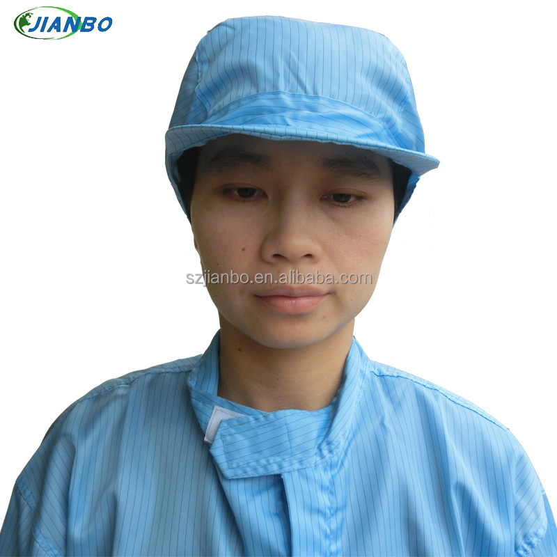 elastic esd hat for cleanroom
