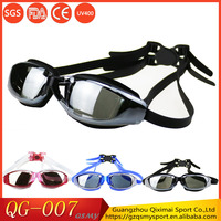 Free sample Hot sale anti fog waterproof unisex swim glasses for adult