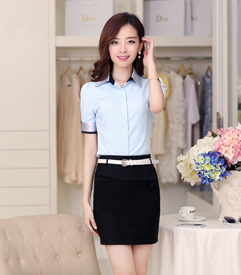 New Design Women Office Uniform Style,Ladies Office ...