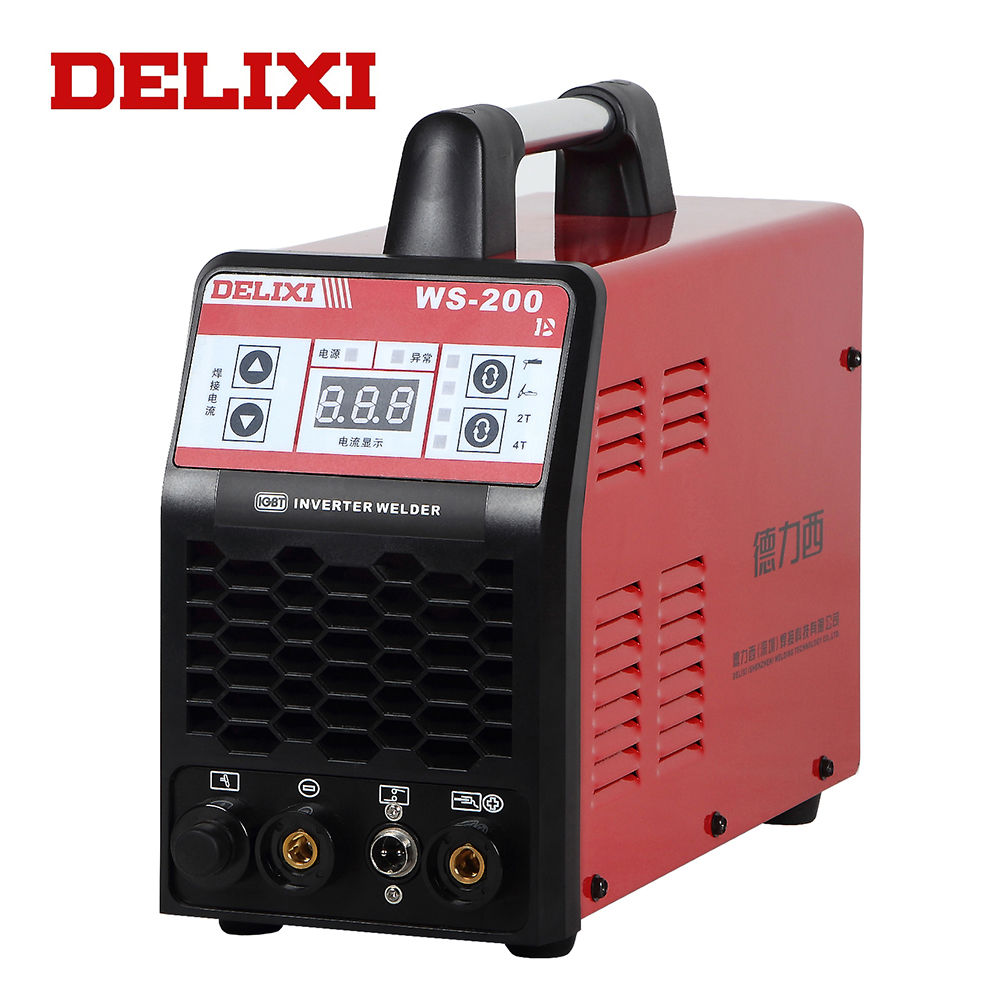 DELIXI single phase welder AC WS 200A IP21S Inverter Arc TIG <strong>Welding</strong> Machine price list for <strong>Welding</strong> and Electric Working