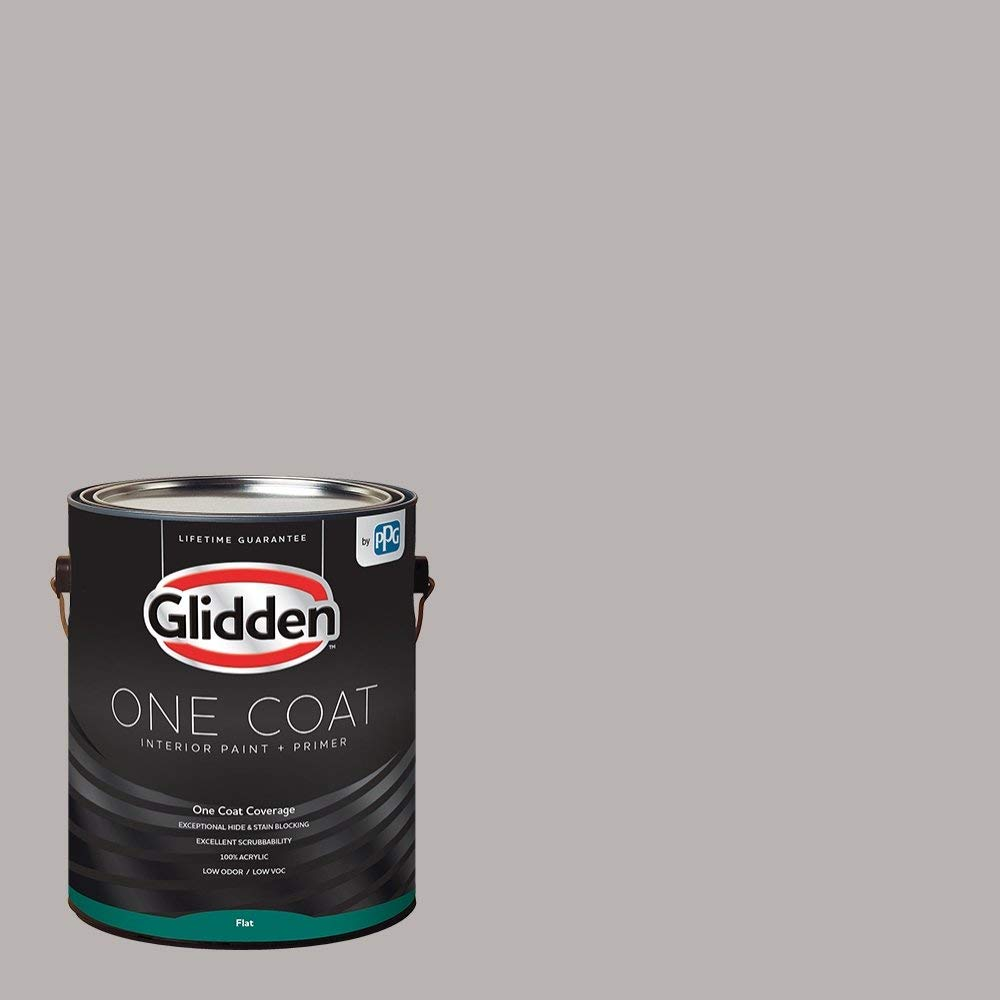 Get Quotations Glidden Interior Paint Primer Gray Black Marble One Coat