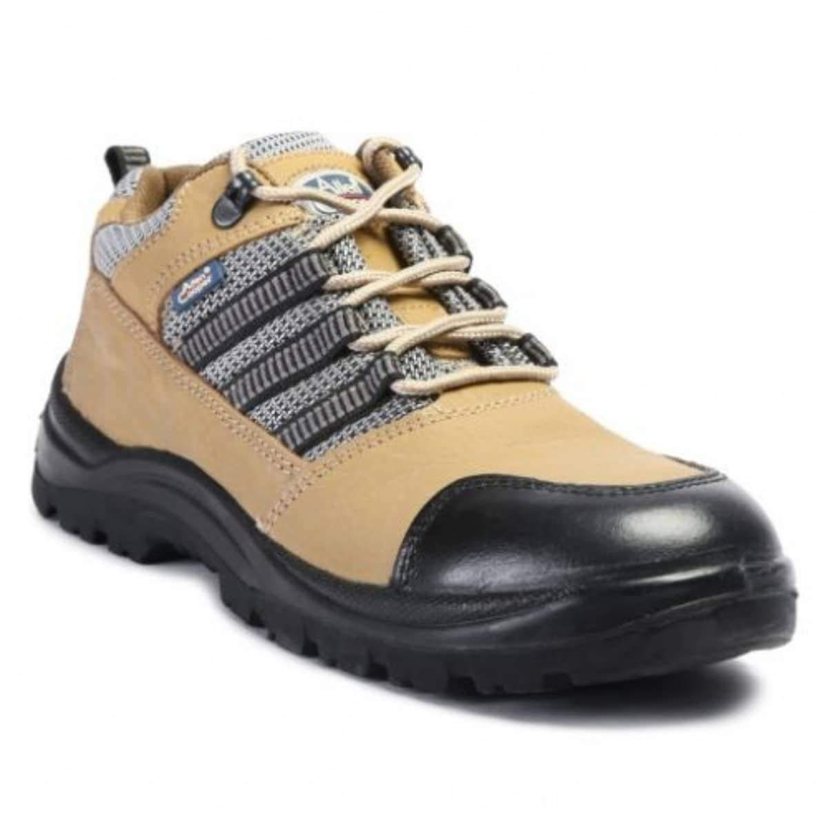 6a4495e360b1 Get Quotations · Generic Allen Cooper Ac005 Safety Shoes Steel Toe 7 Brown
