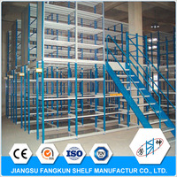 used warehouse mezzanine rack systems prefab steel stairs residential