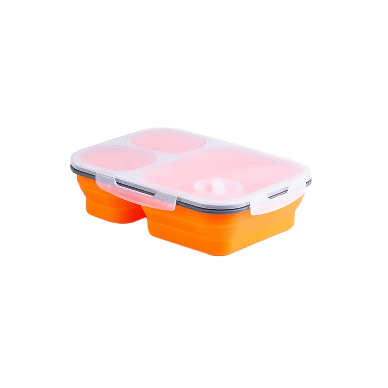 Großhandel FDA silikon squeezable reise container für kinder dicht tiffin bento lunch box für studenten