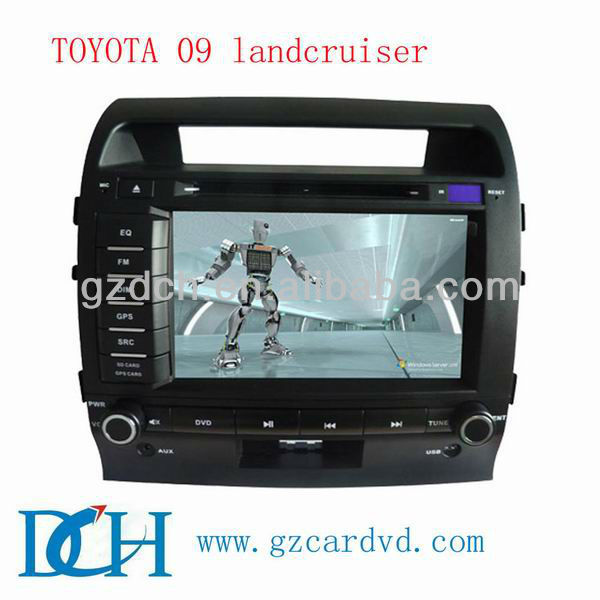 touch screen car dvd player for TOYOTA LAND CRUISER LC200 09 WS-9115