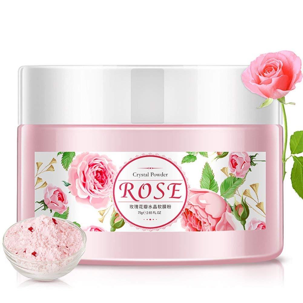 Ofanyia Natural Organic Rose Petal Crystal Soft Mask Powder Whitening Moisturizing Mask Powder
