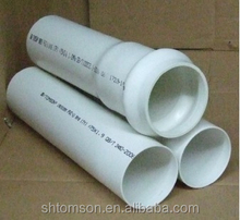 BS EN ISO 4422 standard PVC pipe for water supply