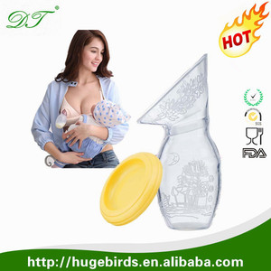 Custom Silicone Breastfeeding Manual Breast Pump Milk Pump
