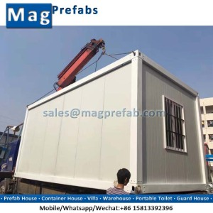 Cheap Prefab Container House Mobile Homes/ Office/ Warehouse for Sale