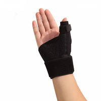 Hand Palm Brace, Thumb Support, Band, Sleeve - Breathable - Adjustable Compression Strap