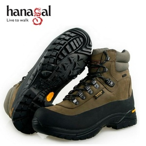 Factory Price Wholesale sympatex hiking shoes top quality waterproof army hiking boots leather hunting boots rubber Outsole