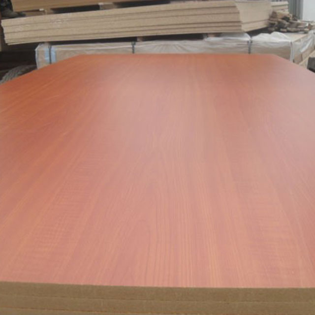 China Supplier woodgrain embossed mdf e1 e2