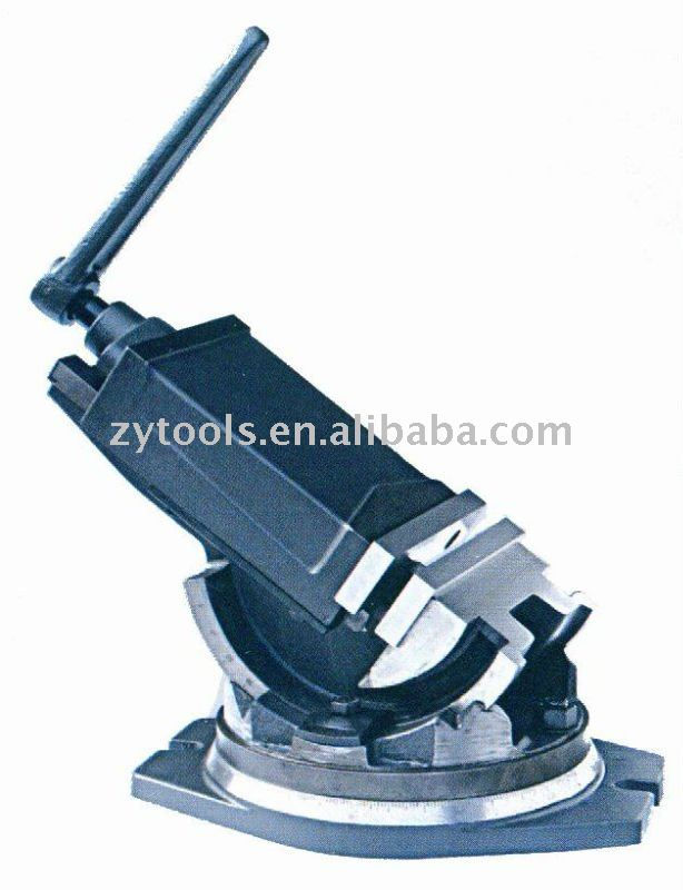 Tilting machine vise
