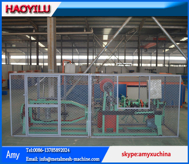 Barbed wire Making Machine (china factory)