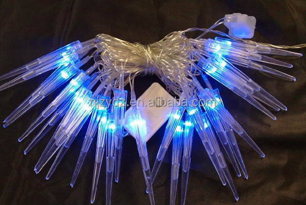 colorful new style led holiday light LED snow falling light