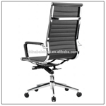 903# Ergonomic black color office furniture leather high computer office chairs on sale