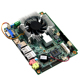 Mini pc board motherboard with fan intel core3 I5 CPU 2 integrated ethernet ports arm motherboard