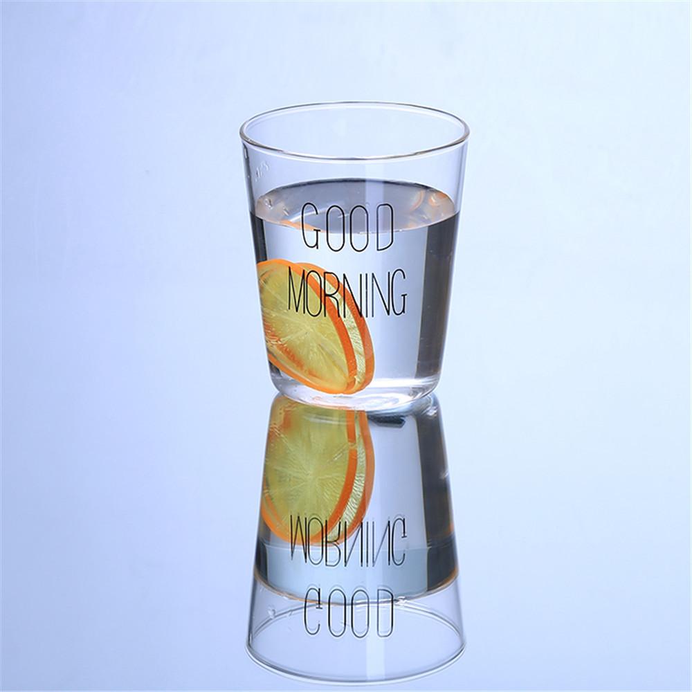 Transparente isolierte hitzebeständige doppelwandige Glasbecher