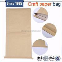 Laminated Kraft Paper Bag PP Woven Bag with PE Liner for industrial use