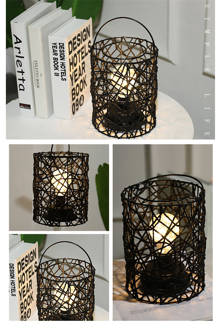 Simple Nordic Style Table Lamps Luxury Hand Made Light Decoration Living Room