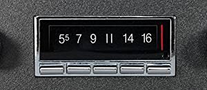 1969-1977 Chevrolet Camaro 300 watt Custom Autosound USA-740 AM FM Car Stereo/Radio with built-in Bluetooth, AUX Inputs, Color Change LCD Digital Display