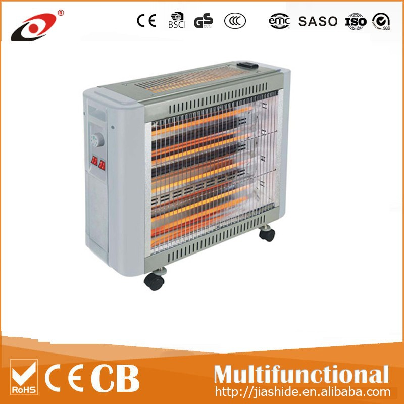2015 hot sale portable quartz heater with humidifier