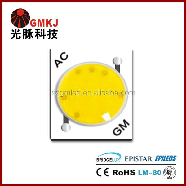 220V Direct Current COB LED Driverless 9W AC COB LED Chip AC COB 9W