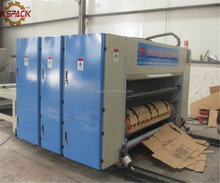 Carton Box Packing Corrugated Cardboard Rotary Die Cutting Machine