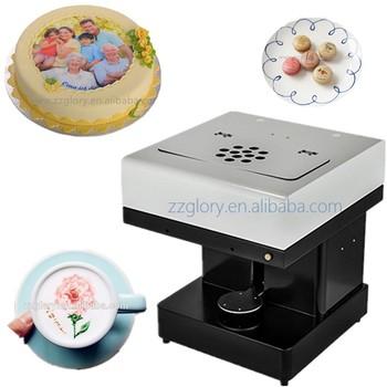 3d Edible Food Coloring Printer Ink Selfie Coffee Printer With ...
