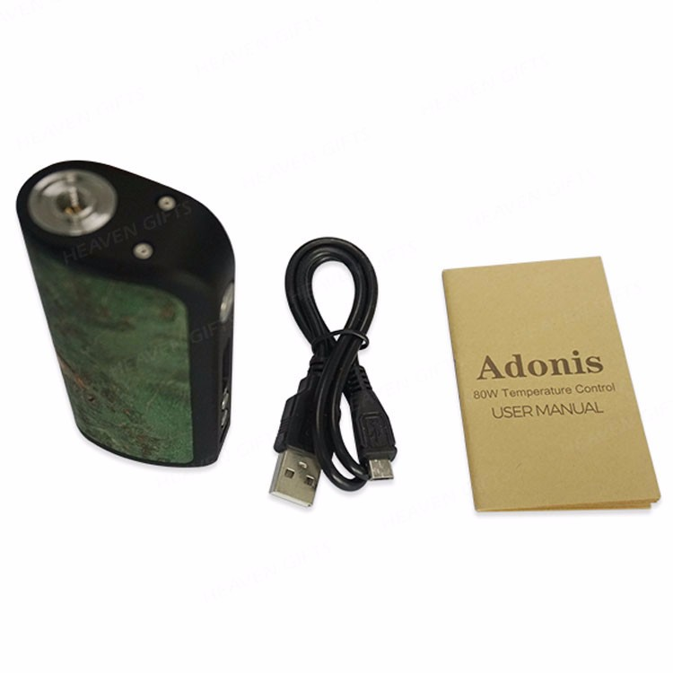 Arctic Dolphin Stabilized Wood Facade Design 80W ADT-80TC Adonis Box MOD