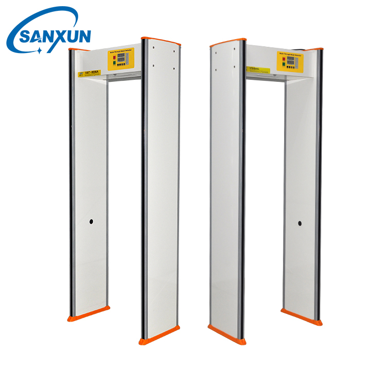 Airport Single Zone body security scanner , metal detector scanner