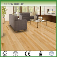 big size Oak engineered flooring indoor wood timber floor brushed/hand scraped version