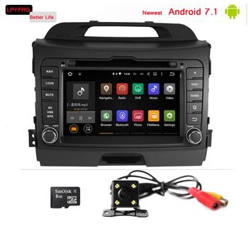 android 7.1 touch screen car dvd gps for kia sportage 8'' 2gb ram