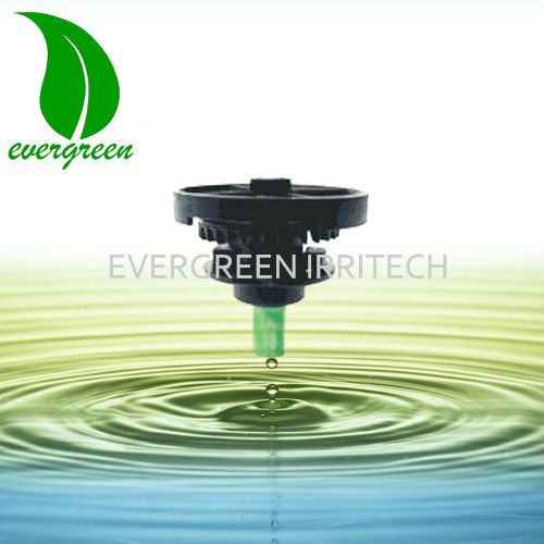 middle distance garden farm irrigation water rotating sprinkler micro sprayer